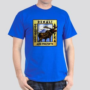 Denali National Park and Pres Dark T-Shirt