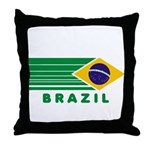 Brazil Vintage Throw Pillow