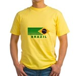 Brazil Vintage Yellow T-Shirt