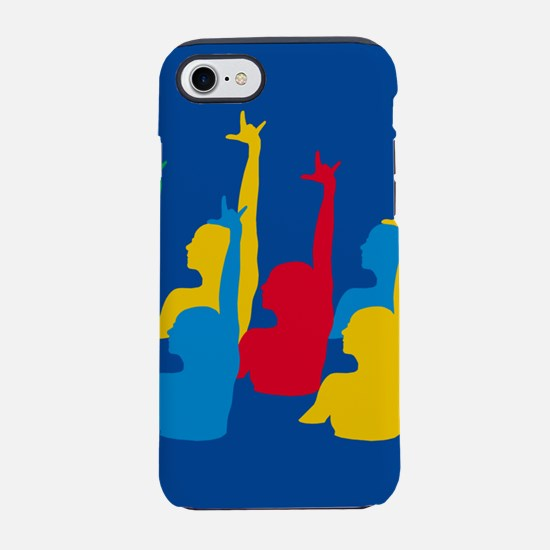 Synchronized Swimming iPhone 7 Tough Case
