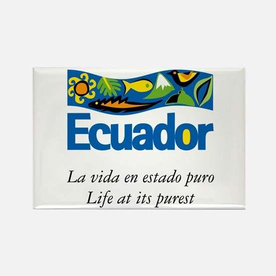 Funny Ecuador Rectangle Magnet