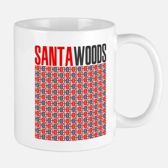 Santa Woods Hoes Mug