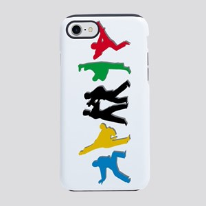 Tae Kwon Do Kicks iPhone 7 Tough Case