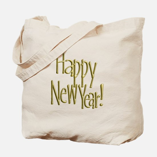 Cute Happy new year 2013 Tote Bag