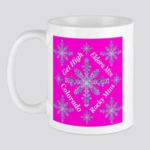 Eldora Snowflakes Get High Ro Mug