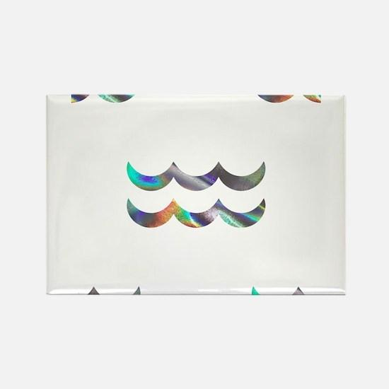 hologram aquarius Magnets