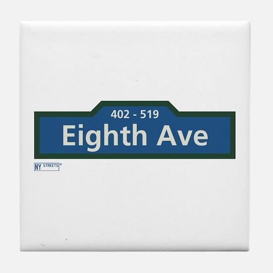 8th Avenue in NY Tile Coaster