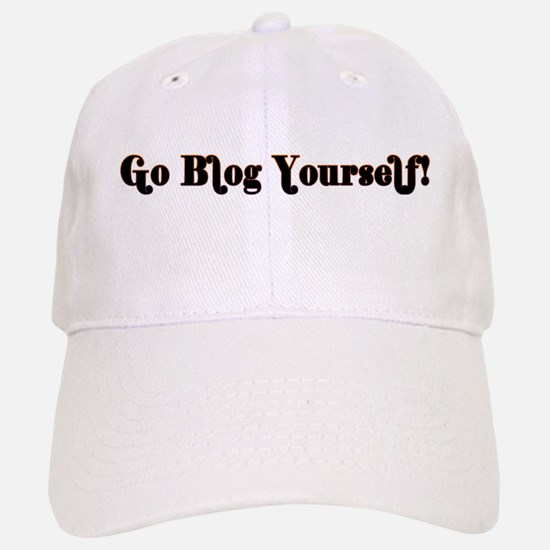 Go Blog Yourself - Baseball Baseball Cap