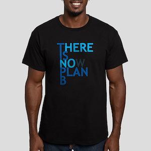 no plan b Men's Fitted T-Shirt (dark)