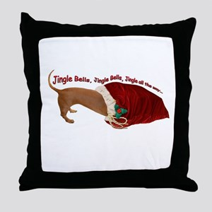 Toy Bag Throw Pillow