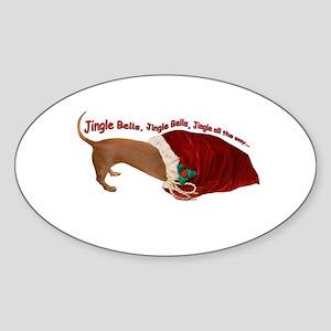 Toy Bag Oval Sticker