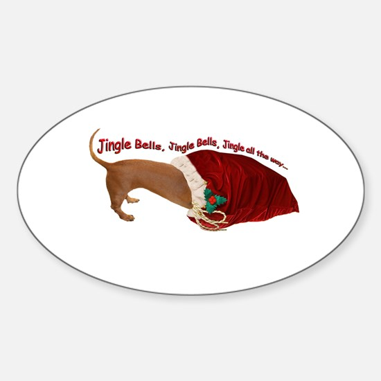 Toy Bag Oval Decal