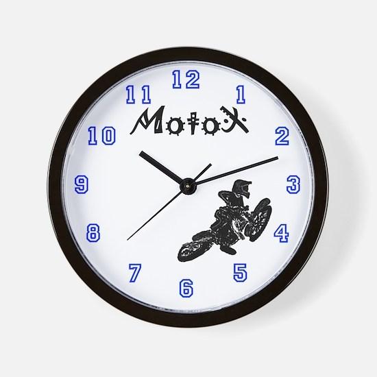 Yamaha Motocross clock Wall Clock