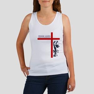 England Lion & Cross Women's Tank Top