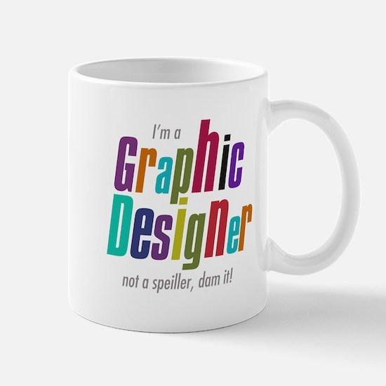 Graphic speller Mug