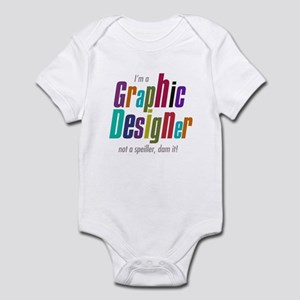 Graphic speller Infant Bodysuit