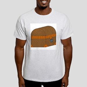 hairy chest Ash Grey T-Shirt