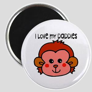 #6 I Love My Daddies Magnet