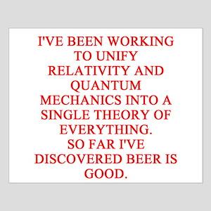 physics joke Small Poster
