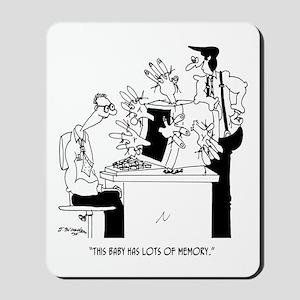 Computer Cartoon 6822 Mousepad