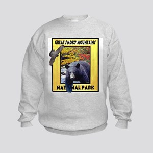 Great Smoky Mountains Nationa Kids Sweatshirt