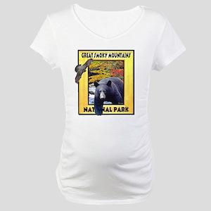 Great Smoky Mountains Nationa Maternity T-Shirt