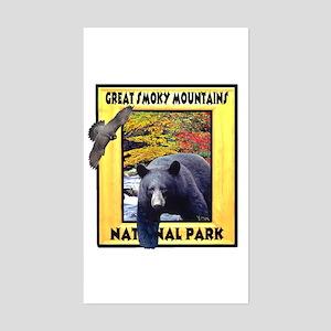 Great Smoky Mountains Nationa Rectangle Sticker
