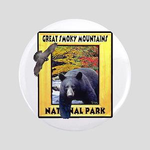 "Great Smoky Mountains Nationa 3.5"" Button"
