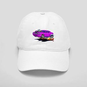 Challenger Purple Car Cap