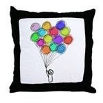 Colorful Balloons Pillow