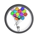 Colorful Balloon Clock