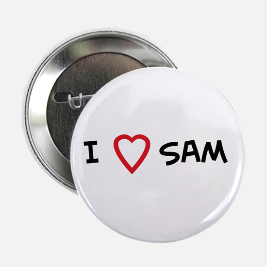 I Love SAM Button