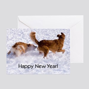 """Happy New Year"" Greeting Card"