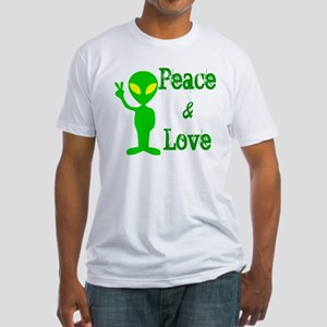 PEACE & LOVE Fitted T-Shirt
