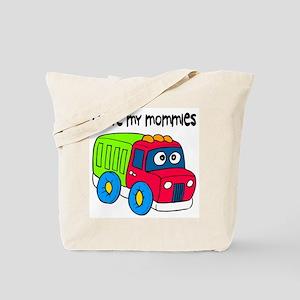 #10 I Love My Mommies Tote Bag