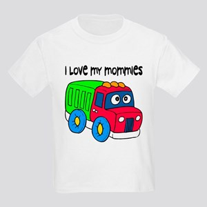 #10 I Love My Mommies Kids T-Shirt