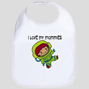 #8 I Love My Mommies Bib