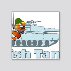 "FishTank Square Sticker 3"" x 3"""