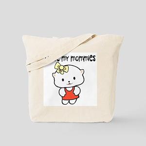 #7 I Love My Mommies Tote Bag