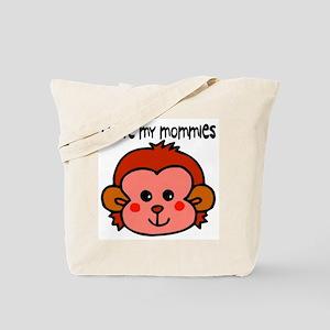 #6 I Love My Mommies Tote Bag