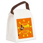Itshotoutsidellc Canvas Lunch Bag