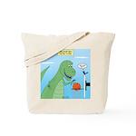 T-Rex Basketball Tote Bag