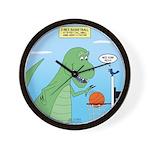 T-Rex Basketball Wall Clock