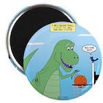 T-Rex Basketball Magnet