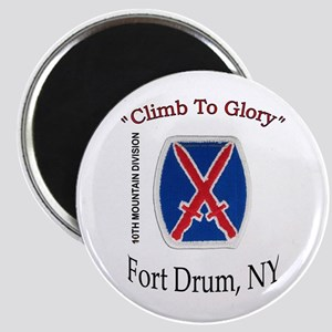"10th Mountain Div ""Climb To G Magnet"