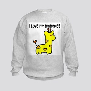 #5 I Love My Mommies Kids Sweatshirt