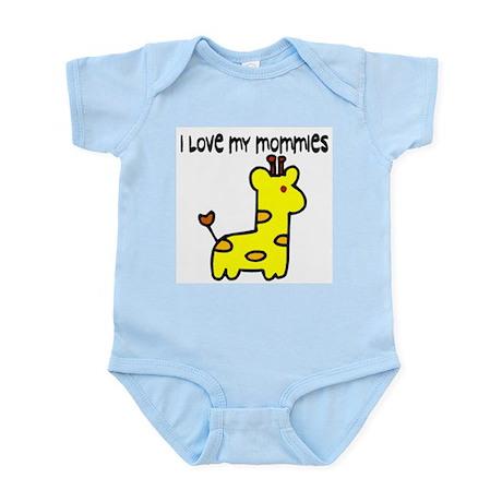 #5 I Love My Mommies Infant Creeper