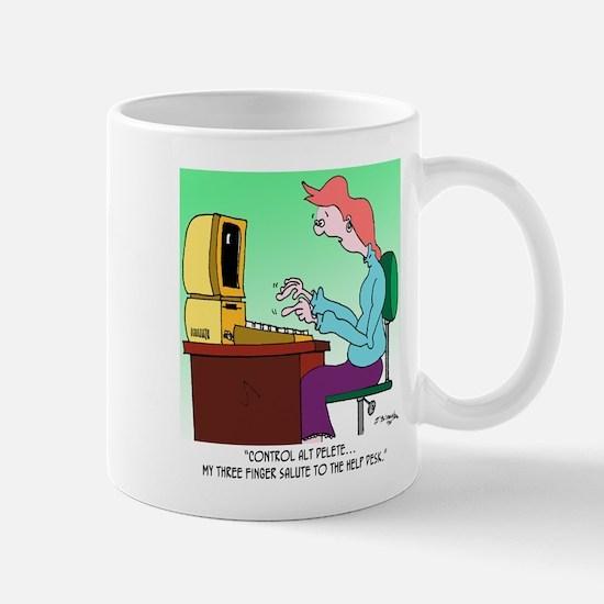 Computer Cartoon 8986 Mug