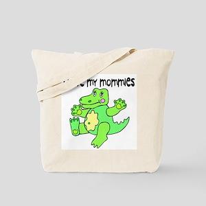 #2 I Love My Mommies Tote Bag
