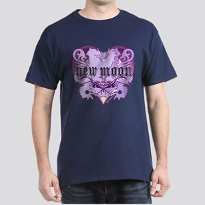 New Moon Violet Edwardian Lions Crest Dark T-Shirt